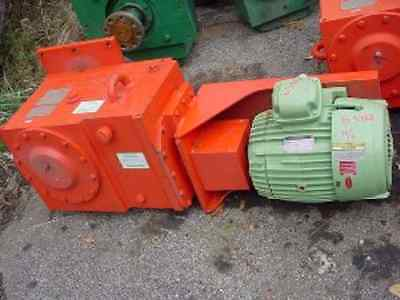 10 Hp Pro Quip mixer RIGHT ANGLE DRIVE Reduced Price 56 rpm output