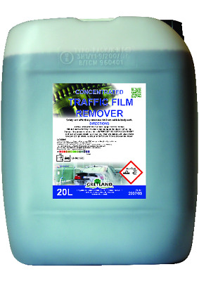 Tfr Concentrate Traffic Film Remover 20 Litre 100:1 De-Greaser Cleaner-Free Post