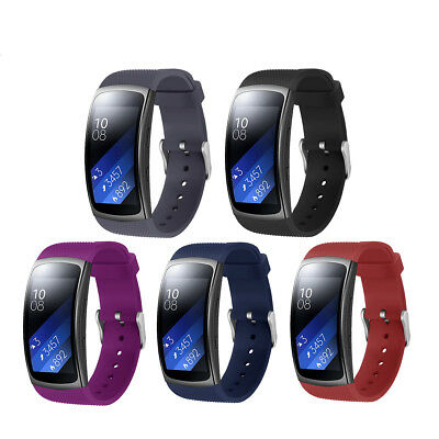 US Replacement Wrist Band Silicone Strap Bracelet For Samsung Gear Fit2 / Pro