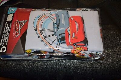 DINSEY PIXAR CARS TODDLER BOYS BOXER BRIEF Size 4T Boys NEW 5 pair  NIP