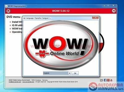 DIAGNOSTIC SOFTWARE Scanning Tool Newest WOW For Cars&Trucks Or Delphi+Keygen