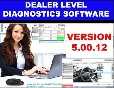 2018 DIAGNOSTIC SOFTWARE Scanning Tool WOW Version 5.0012 For Cars&Generics
