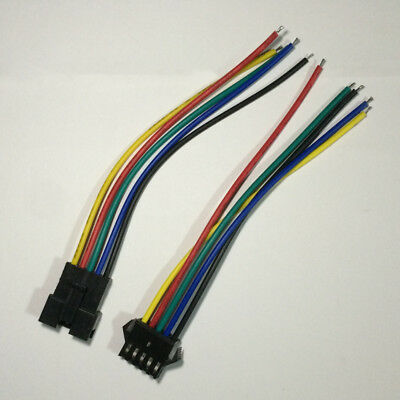5 Sets JST 2.54 2-Pin Connector plug Female /& Male with Wires Cables H/&P