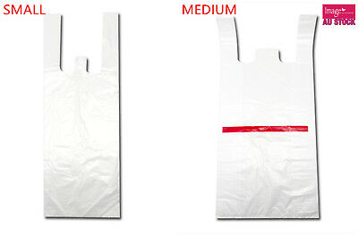 Bulk Plastic Singlet Bags Grocery Bags Shopping Bags SMALL MEDIUM LARGE