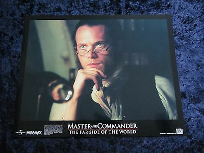 MASTER AND COMMANDER lobby card #8 PAUL BETTANY