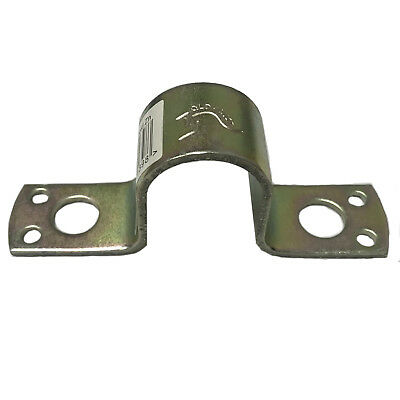 20NB Gate Saddle to suit Timber & Steel - Gold Zinc Farm Fencing Post