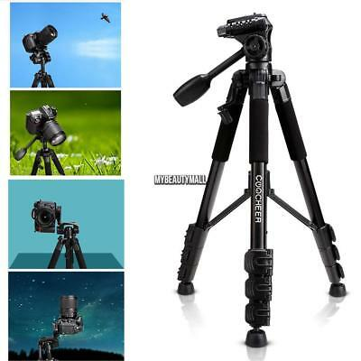Portable Flexible Camera Tripod 4 Sections Stand for DSLR 4 Sections