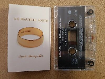 The Beautiful South - Don't Marry Her 3 Track Cassette Tape Single