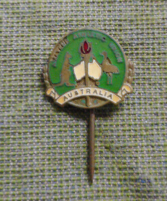 #D366. Australian  Amateur Athletic  Union 1956 Melbourne  Olympic   Pin
