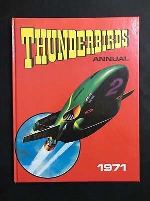 Thunderbirds 1971 Annual 93 Pages