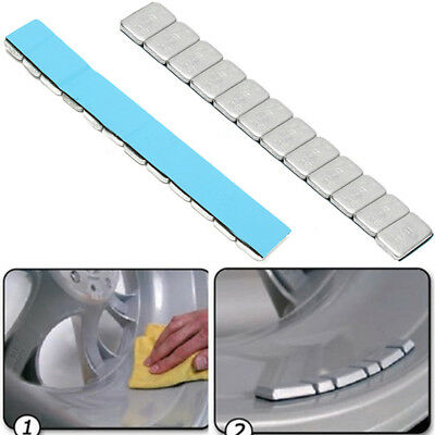 5.9'' 60g 5gx12 Adhesive Tire Wheel Balancing Weights Stick For Motorcycle Car H