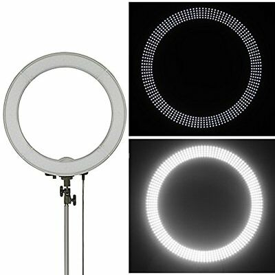 """Ring Light for Camera Photo/Video 18"""" 55W 240 Pieces Dimmable Ring Video Light"""