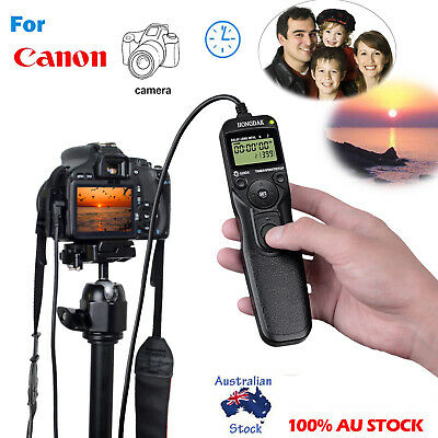 Time lapse intervalometer remote timer shutter for Canon 450D 500D 550D 1000D...