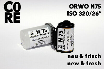 ORWO N74 plus Film • ISO 400 • 35mm NEW & FRESH FILM b/w Black&White Negativ 135