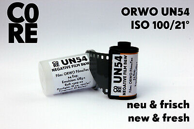 ORWO UN54 Film • ISO 100 • 35mm NEW & FRESH FILM s/w Black&White b/w Negativ 135