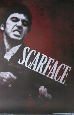 Scarface movie Say Hello- Poster-Laminated available-85cm x 55cm-Brand New
