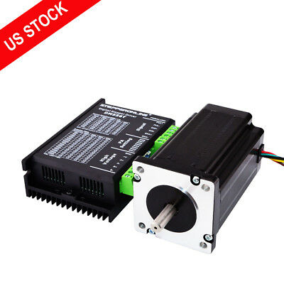 1 Axis Nema 24 Stepper CNC Kit 4.0Nm(566oz.in) Motor & Driver CNC Router Kits