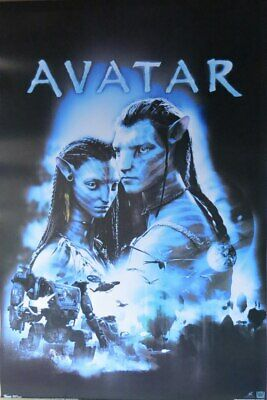 Avatar -Embrace - Poster-Laminated available-85cm x 55cm-Brand New