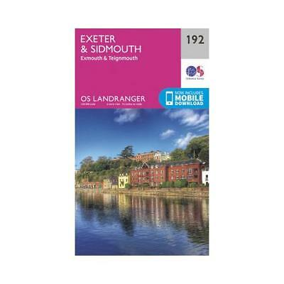 Exeter & Sidmouth, Exmouth & Teignmouth by Ordnance Survey