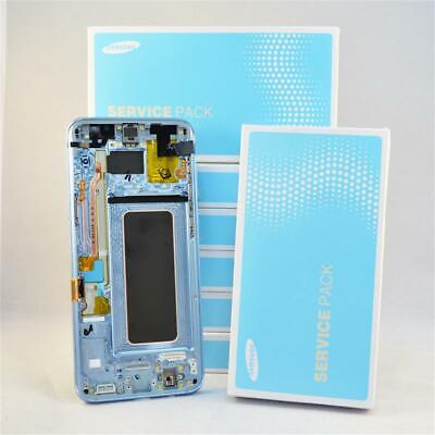 ORIGINAL Samsung Galaxy S8+ SM-G955F LCD Display Blau Coral Blue