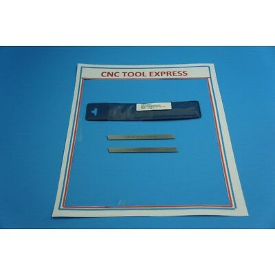 Small Lathe Parting Tool Blade Set Of 2    3/32  X 1/2 X4""