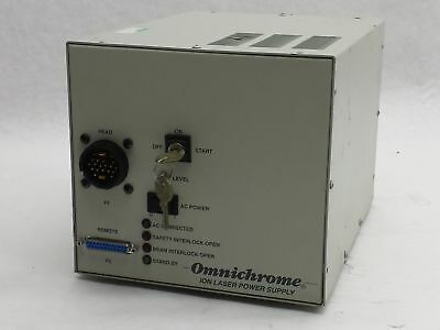 Melles Griot Omnichrome Ion Laser Power Supply 171B-220G 220V 9.4A Unknown