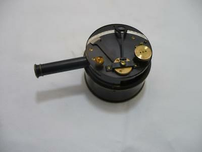 "Original J .H.Steward ,Strand london pocket Drum ""Snuffbox"" Sextant & Case"