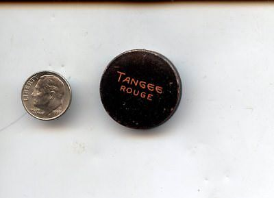 Vintage Tangee Rouge Make-up Tin, George W. Luft Co. New York, with Contents
