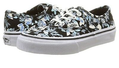 Authentic Kids VANS shoes Unisex Girls Boys Floral size 10.5 new and boxed