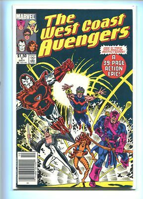 West Coast Avengers #1 Hi Grade Explosive Cover Canadian Price Variant