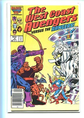 West Coast Avengers #8 Hi Grade 9.2 Rangers Battle Issue