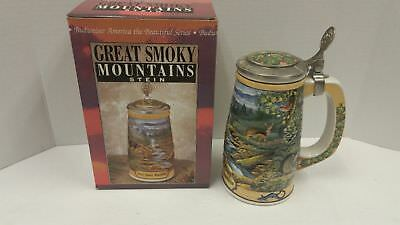 Budweiser GREAT SMOKY MOUNTAINS Stein CS297 America the Beautiful with box
