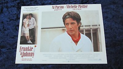 Frankie and Johnny lobby card  # 11 - Al Pacino, Michelle Pfeiffer