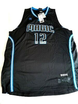 ff9d087a5 NEW NBA ORLANDO Magic Dwight Howard  12 Jersey Black Medium Limited ...