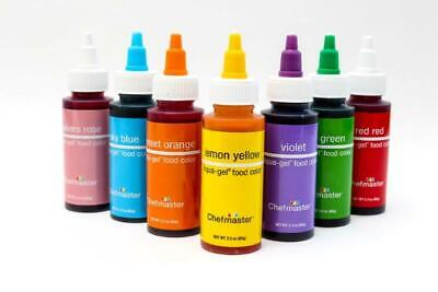 chef Master Gel Colours