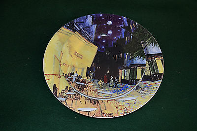 Retro Set Of Plates - Vincent Van Gogh - Cafe - Set Of Two - The Art Of Dining
