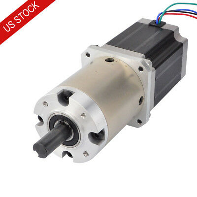 47:1 Planetary Gearbox Nema 23 Geared Stepper Motor 2.8A 4 Wires CNC Router Kits