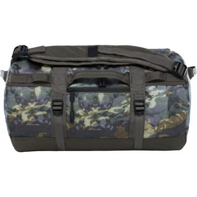 North Face Base Camp X Small Unisex Bag Duffle - English Green Tropical Camo New