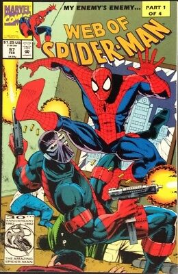 WEB OF SPIDER-MAN # 97 NM 1ST APP OF NIGHTWATCH KEVIN TRENCH SPIKE LEE Movie