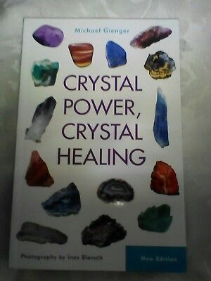 Crystal Power, Crystal Healing By Michael Gienger Paper back Book New