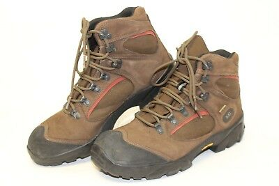 2d0797f9c17 REI MENS 8.5 42 Brown Leather Hiking Boots Monarch IV Gore-Tex J552343 fg