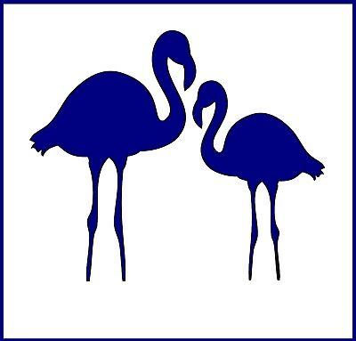Flexible Stencil *FLAMINGO* Small or Medium Card Making Crafts Tropical Holiday