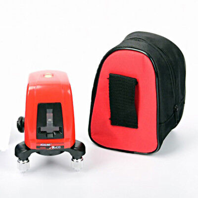 AK435 Model 360 Degree Self-leveling Cross Laser Level 2 Line 1 Point with Bag
