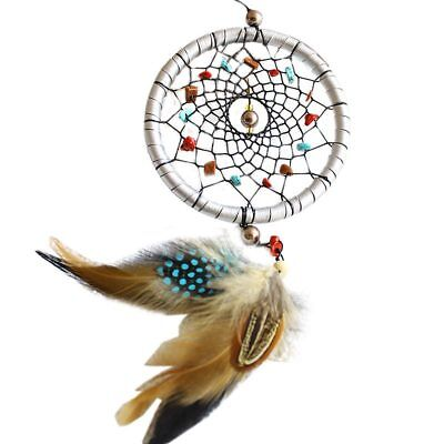 Handmade Dream Catcher Feather Wall Car Hanging Decoration Craft Gift N7S1