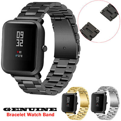 Genuine Stainless Steel Bracelet Band Strap For Xiaomi Amazfit Bip Youth Watch