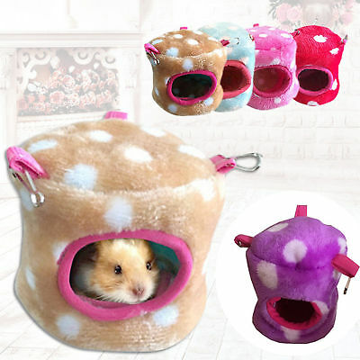 Pet Hamster Cage House Hanging Nest Warm Bed Rat Rat Hamaca Ardilla Bird Toys