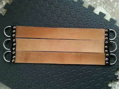 Hand  made Straight razor strop.Horse Leather
