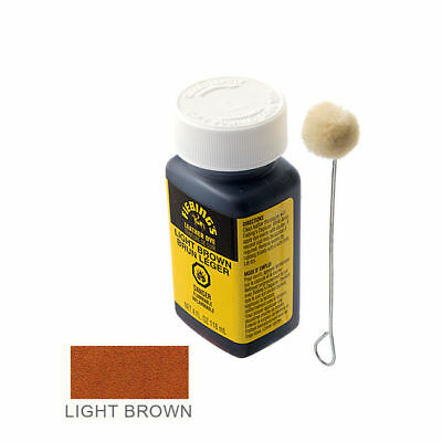 Fiebing's Leather Dye - Light Brown - Includes one Wool Dauber
