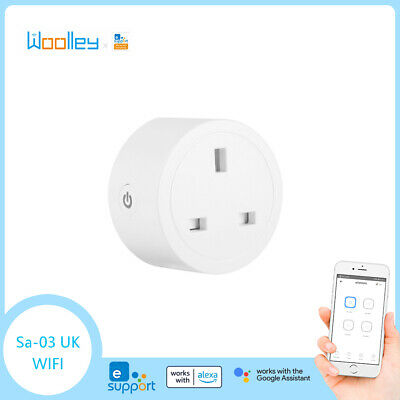 Sonoff S20 WIFI Smart APP Fernbedienung Timer Steckdose UK Stecker Hausautomatio