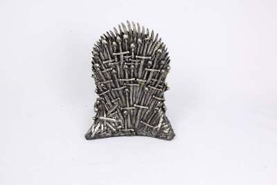 Game Of Thrones 22Cm Bronzed Throne Of Iron Chair Figurine